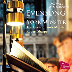 The choir of York Minster directed by Robert Sharpe.  Benjamin Morris, organ.